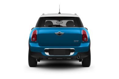 Rear Profile  2011 MINI Countryman