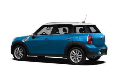 Surround 3/4 Rear - Drivers Side  2011 MINI Countryman