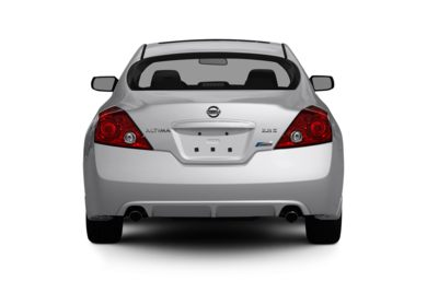 Rear Profile  2011 Nissan Altima