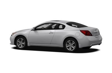 Surround 3/4 Rear - Drivers Side  2011 Nissan Altima