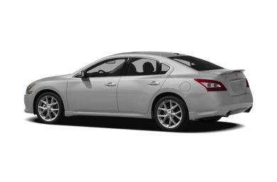 Surround 3/4 Rear - Drivers Side  2011 Nissan Maxima
