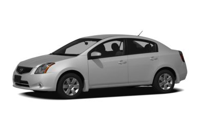 3/4 Front Glamour 2011 Nissan Sentra