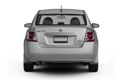 Rear Profile  2011 Nissan Sentra