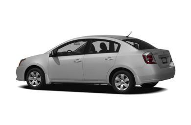 Surround 3/4 Rear - Drivers Side  2011 Nissan Sentra