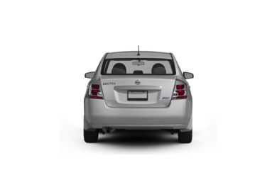 Surround Rear Profile 2011 Nissan Sentra