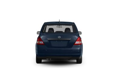 Surround Rear Profile 2011 Nissan Versa
