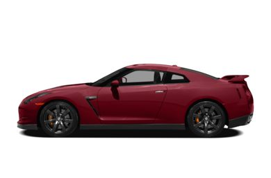 90 Degree Profile 2011 Nissan GT-R
