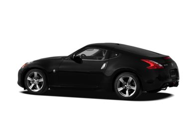 Surround 3/4 Rear - Drivers Side  2011 Nissan 370Z