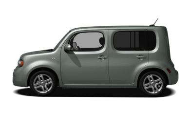 90 Degree Profile 2011 Nissan Cube
