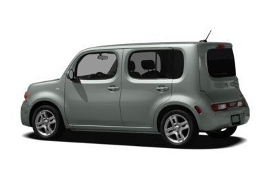 Surround 3/4 Rear - Drivers Side  2011 Nissan Cube