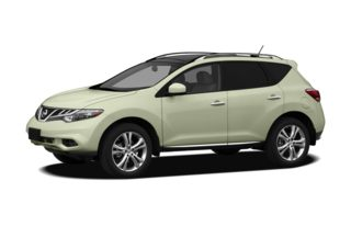 3/4 Front Glamour 2011 Nissan Murano