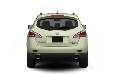 Rear Profile  2011 Nissan Murano