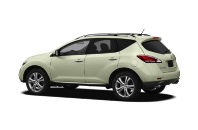 Surround 3/4 Rear - Drivers Side  2011 Nissan Murano