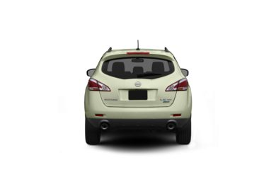 Surround Rear Profile 2011 Nissan Murano