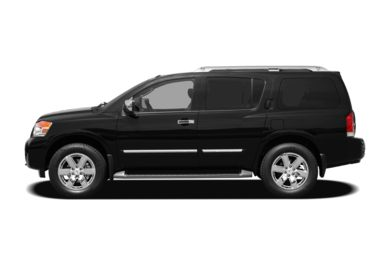 90 Degree Profile 2011 Nissan Armada