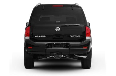Rear Profile  2011 Nissan Armada