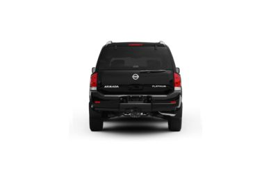 Surround Rear Profile 2011 Nissan Armada