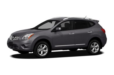 3/4 Front Glamour 2011 Nissan Rogue