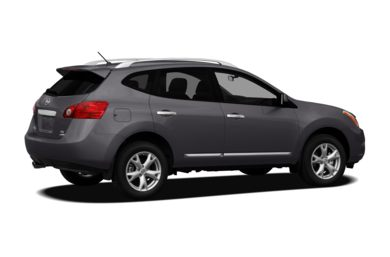 3/4 Rear Glamour  2011 Nissan Rogue
