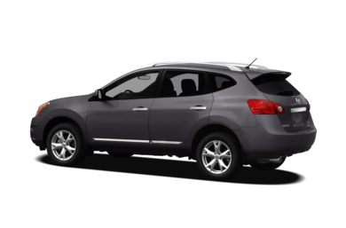 Surround 3/4 Rear - Drivers Side  2011 Nissan Rogue