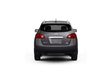 Surround Rear Profile 2011 Nissan Rogue