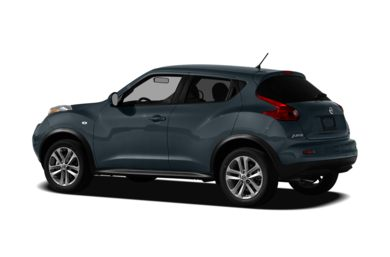 Surround 3/4 Rear - Drivers Side  2011 Nissan Juke