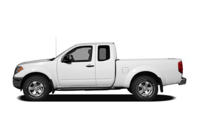 90 Degree Profile 2011 Nissan Frontier