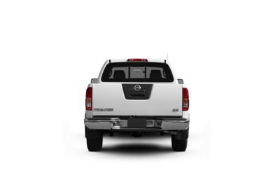 Surround Rear Profile 2011 Nissan Frontier