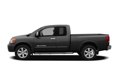 90 Degree Profile 2011 Nissan Titan