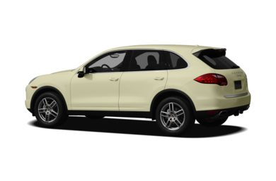 Surround 3/4 Rear - Drivers Side  2011 Porsche Cayenne