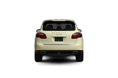 Surround Rear Profile 2011 Porsche Cayenne