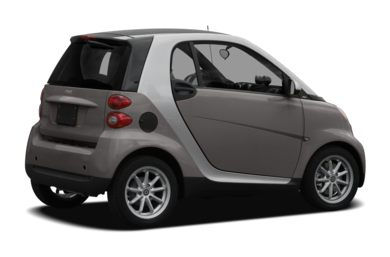 3/4 Rear Glamour  2011 smart fortwo