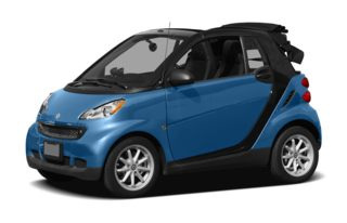 3/4 Front Glamour 2011 smart fortwo