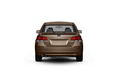 Surround Rear Profile 2011 Subaru Legacy