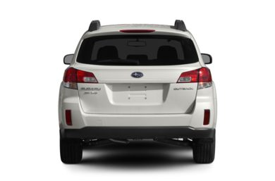 Rear Profile  2011 Subaru Outback