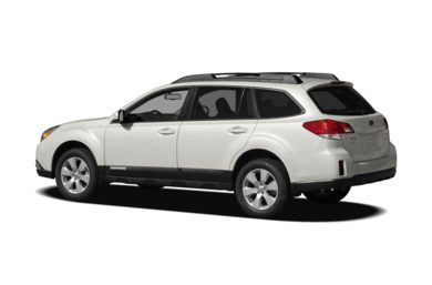 Surround 3/4 Rear - Drivers Side  2011 Subaru Outback