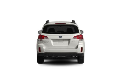 Surround Rear Profile 2011 Subaru Outback