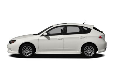 90 Degree Profile 2011 Subaru Impreza