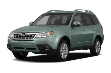 3/4 Front Glamour 2011 Subaru Forester
