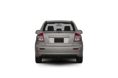Surround Rear Profile 2011 Suzuki SX4