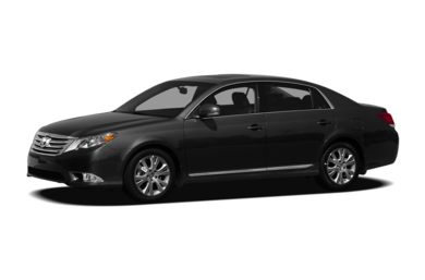 3/4 Front Glamour 2011 Toyota Avalon