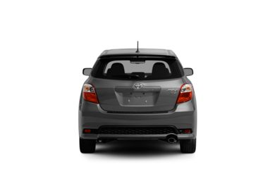 Surround Rear Profile 2011 Toyota Matrix