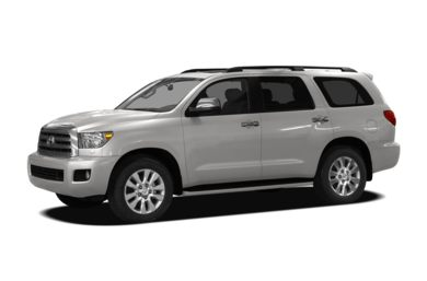 3/4 Front Glamour 2011 Toyota Sequoia