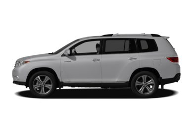 90 Degree Profile 2011 Toyota Highlander