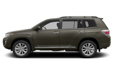 90 Degree Profile 2011 Toyota Highlander Hybrid