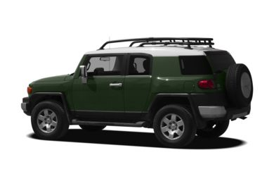 Surround 3/4 Rear - Drivers Side  2011 Toyota FJ Cruiser