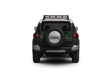 Surround Rear Profile 2011 Toyota FJ Cruiser