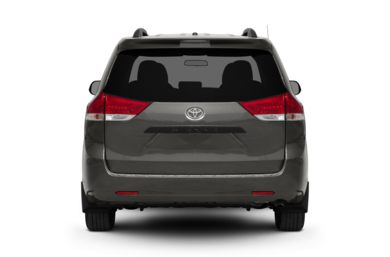 Rear Profile  2011 Toyota Sienna