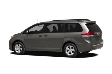 Surround 3/4 Rear - Drivers Side  2011 Toyota Sienna