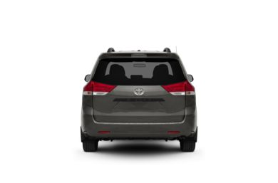 Surround Rear Profile 2011 Toyota Sienna
